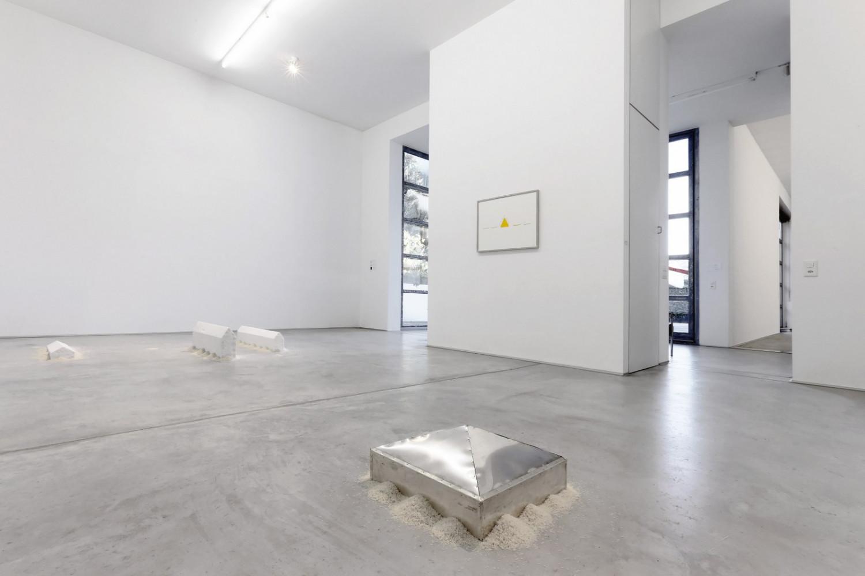 Wolfgang Laib, Installation view