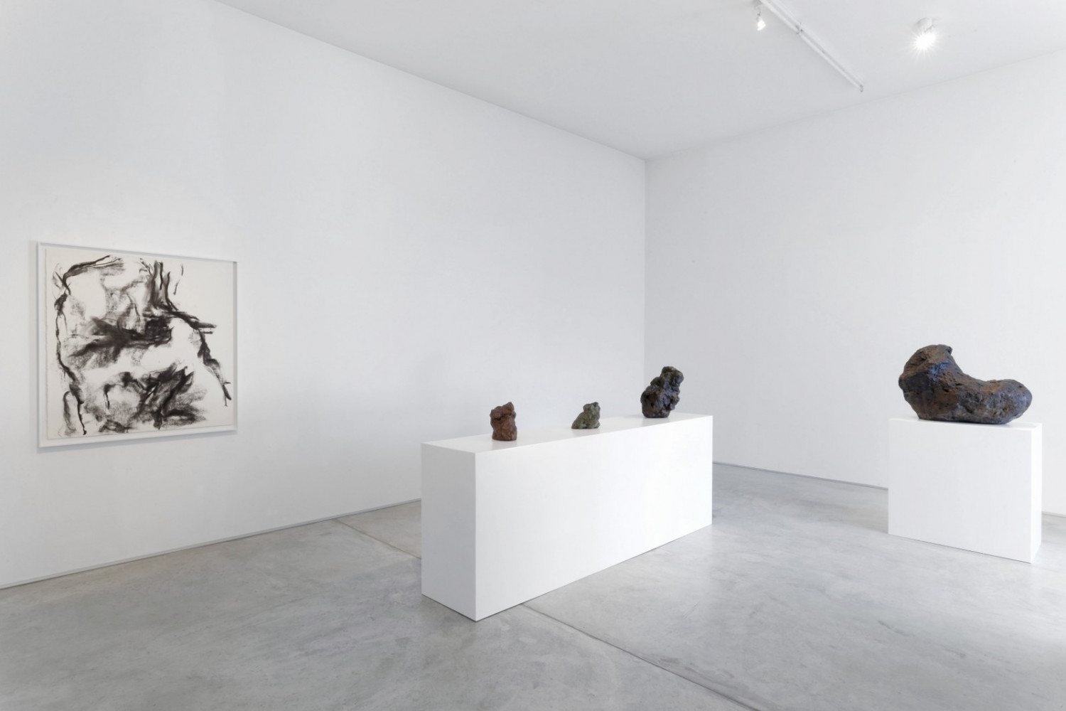 William Tucker, 'Sculture', Installation view, Buchmann Galerie Agra / Lugano