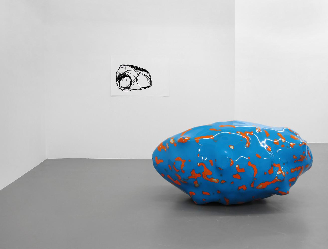 Wilhelm Mundt, 'Klumpen', Installation view, Buchmann Galerie, 2015