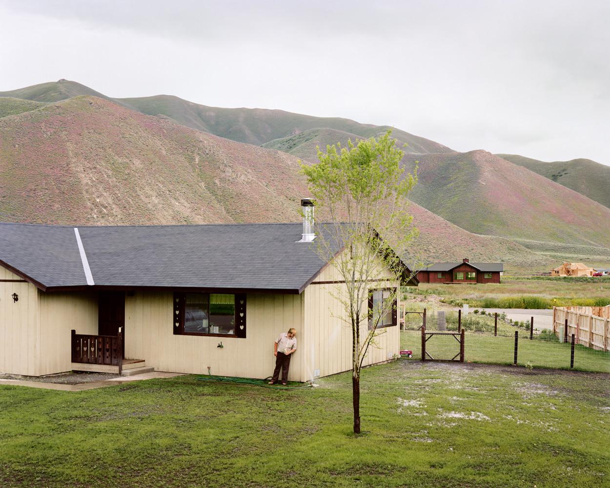 Joel Sternfeld, 'Hailey, Idaho, June', 1980