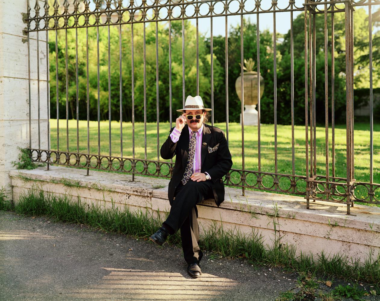 Joel Sternfeld, 'Via Angelo Masina, Rome, September', 1990