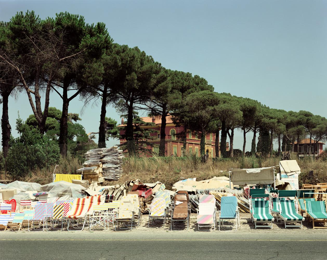 Joel Sternfeld, 'Via Appia Nuova, Statuario, Rome, August', 1989