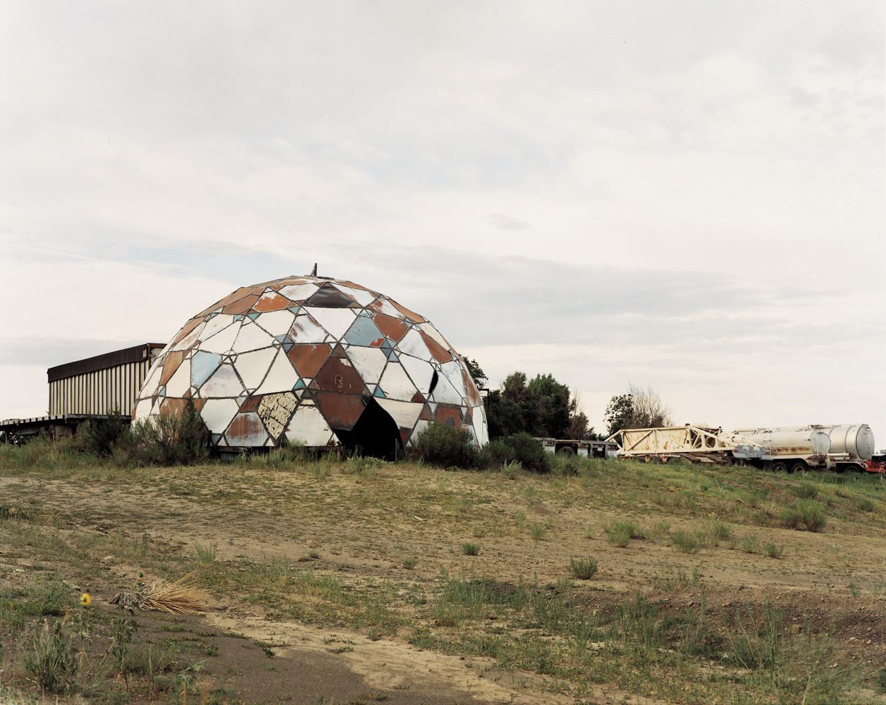 Joel Sternfeld, 'Ruins of Drop City, Trinidad, Colorado, August', 1995
