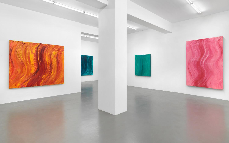 Jason Martin, 'Polychrome Futures', Installation view, Buchmann Galerie, 2020