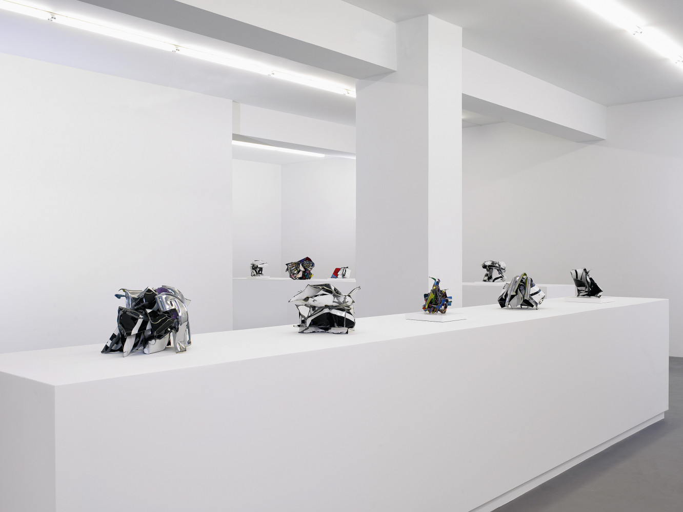 John Chamberlain, 'It's his Show', Installation view, Buchmann Galerie, 2006