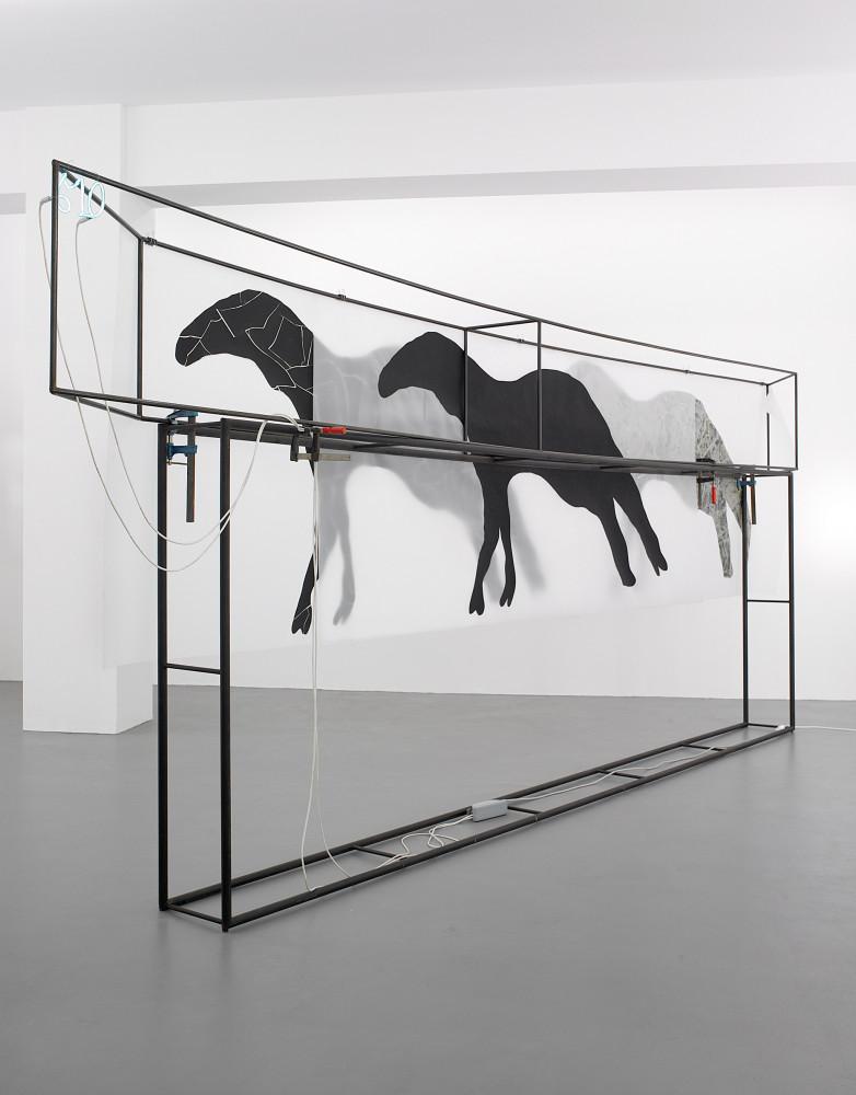 Mario Merz, Installation view, Buchmann Galerie, 2007
