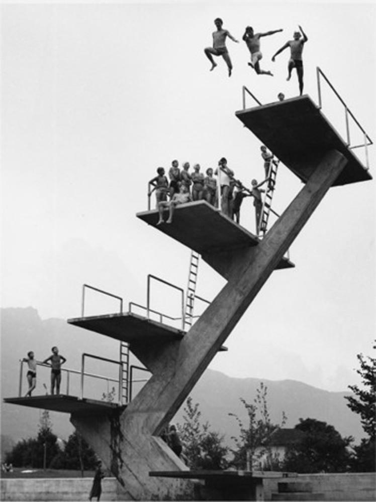 Arnold Odermatt, 'Bellinzona', 1970