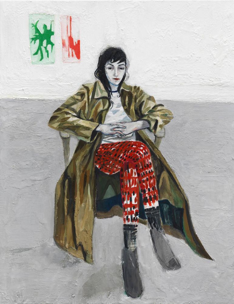 Raffi Kalenderian, 'Laure in the Studio', 2013