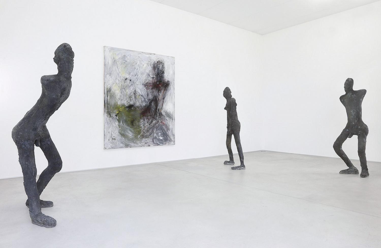 Martin Disler, 'Häutung und Tanz 1990-91. Sculture in bronzo', Installation view