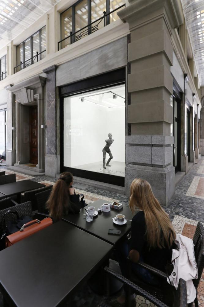 Martin Disler, Installation view, Buchmann Lugano