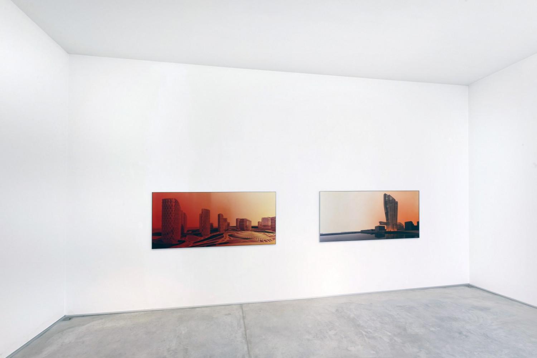 Zaha Hadid, 'Zaha Hadid_Joel Sternfeld – Landscape?', Installation view, Buchmann Galerie Agra / Lugano