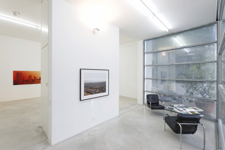 'Zaha Hadid_Joel Sternfeld – Landscape?', Installation view, Buchmann Galerie Agra / Lugano