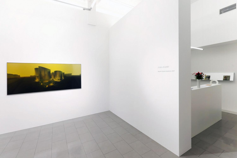Zaha Hadid, 'Landscape?', Installation view, Buchmann Lugano