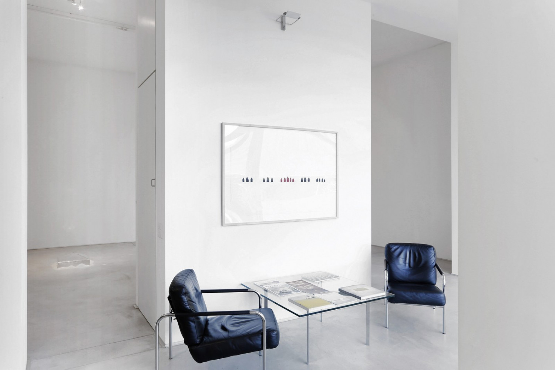 Wolfgang Laib, Installation view, Buchmann Galerie Agra / Lugano