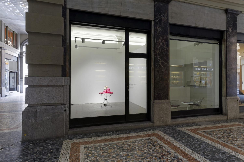 'Gerda Steiner & Jörg Lenzlinger – Trink oh Herz vom Überfluss der Zeit!', Installation view, Buchmann Lugano