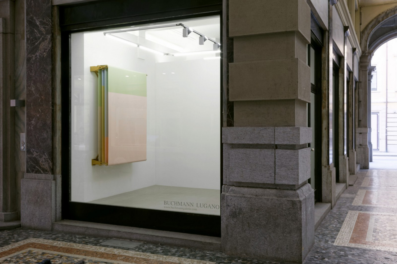 Alberto Garutti, Installation view, Buchmann Lugano
