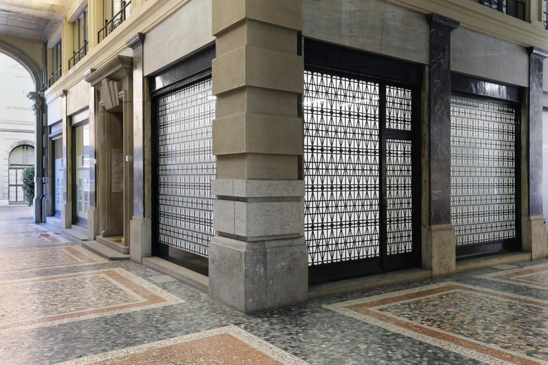Bettina Pousttchi, 'Curtain Wall', Installation view, Buchmann Lugano, 2015