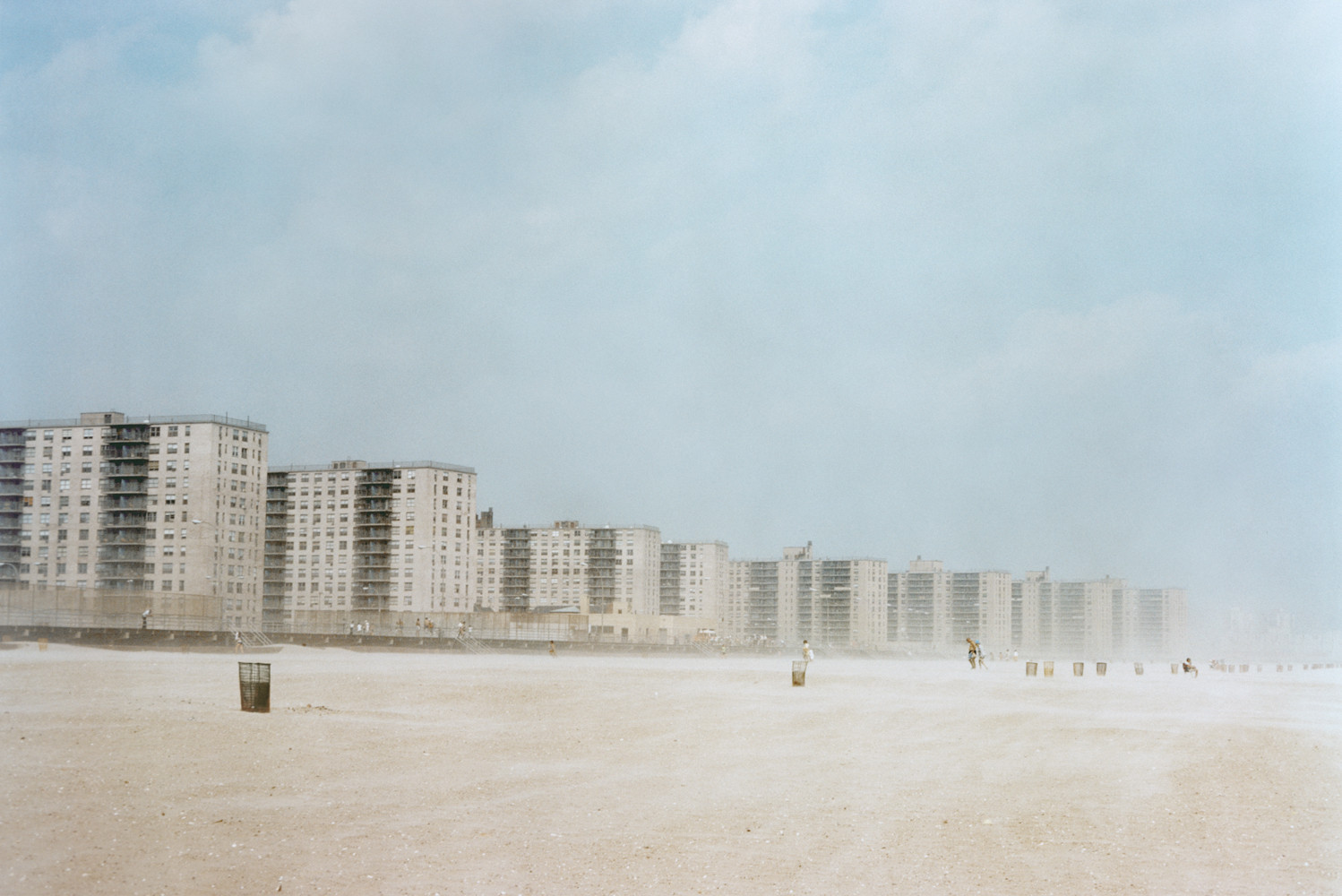 Joel Sternfeld, 'Rockaway Beach New York City (#2) August', 1975
