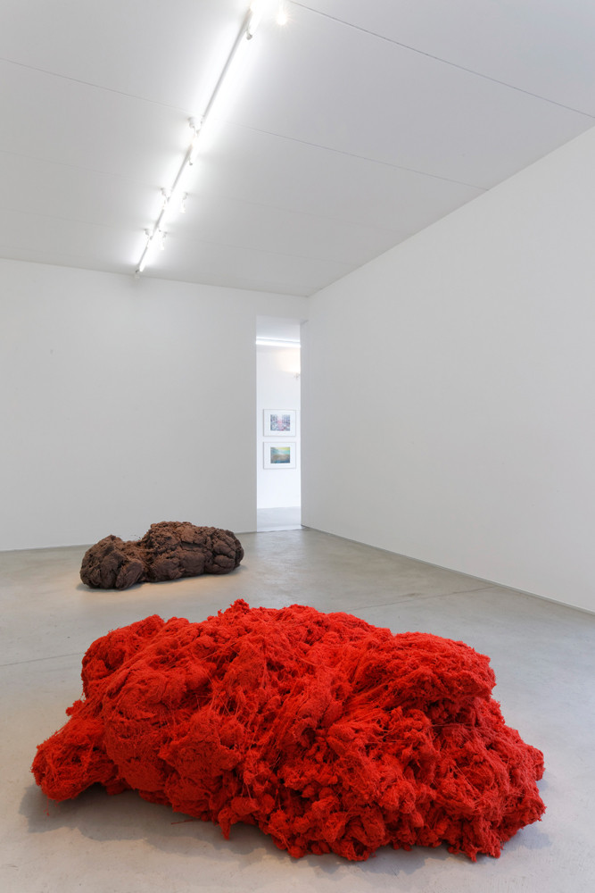 'Seguire il filo del discorso – MARCO D'ANNA_ALBERTO GARUTTI_ALEX DORICI', Installation view