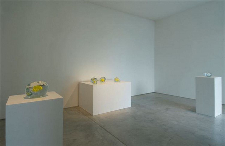 Wilhelm Mundt, 'Lawrence Carroll_Yellow works – Wilhelm Mundt_Yellow Murano glass scultpures', Installation view, Buchmann Galerie Agra / Lugano