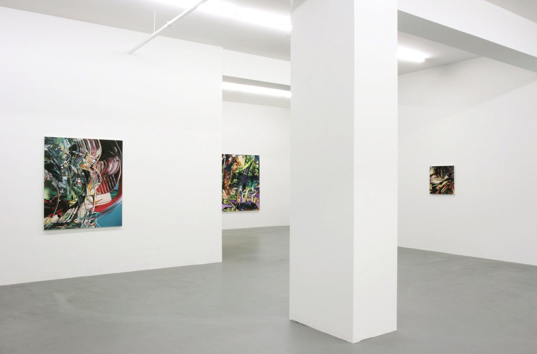 Sean Dawson, 'Silent Glitch ', Installation view, Buchmann Galerie, 2005