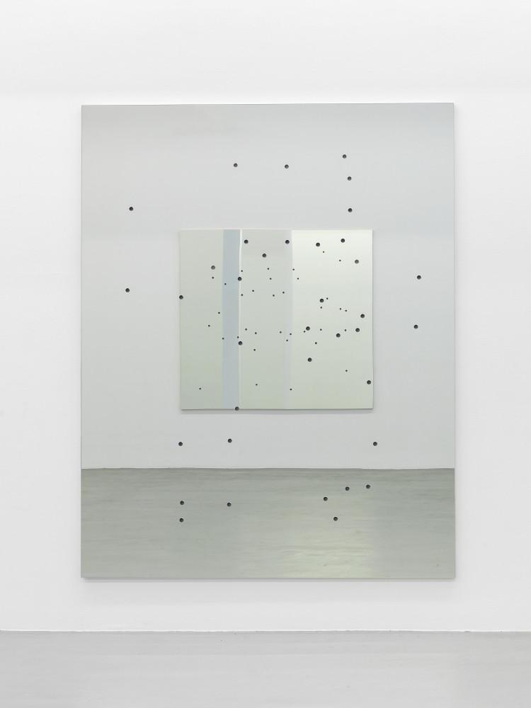 Alberto Garutti, 'Cortile di casa, balcone con N. In alto rettangolo imperfetto di cielo', 1992–2015