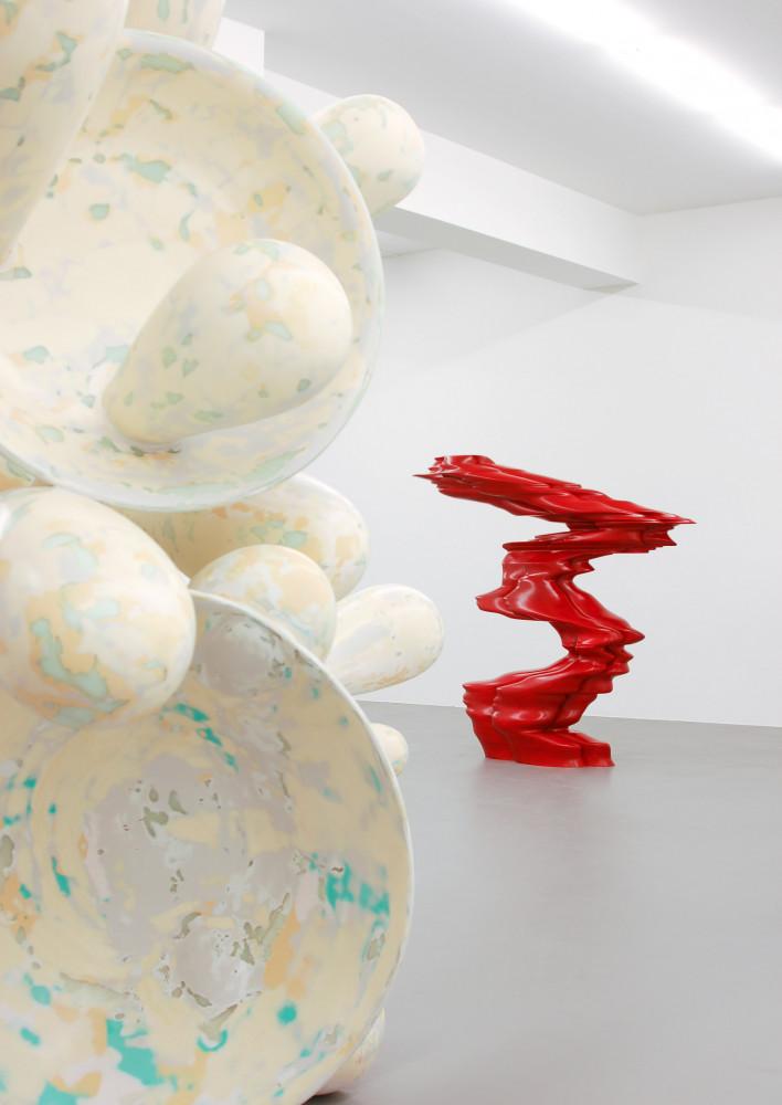 Tony Cragg, Installation view, Buchmann Galerie, 2008