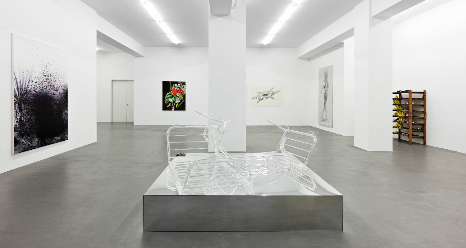 'The Crystal World', Installation view, Buchmann Galerie, 2010