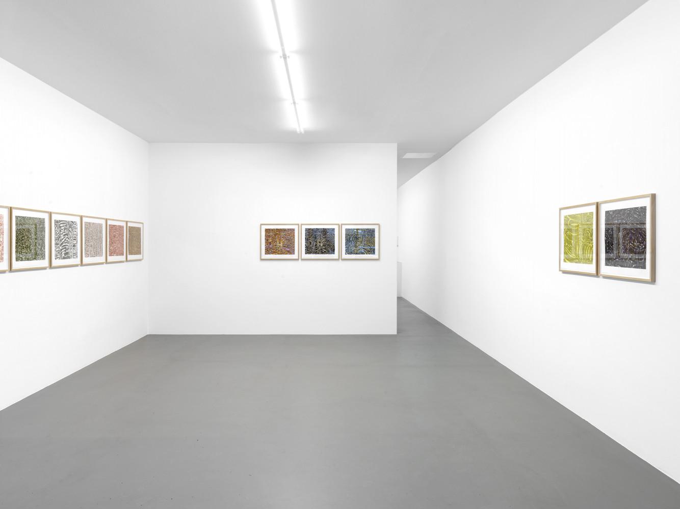 Tony Cragg, 'Waldzimmer', Installation view, Buchmann Box, 2011