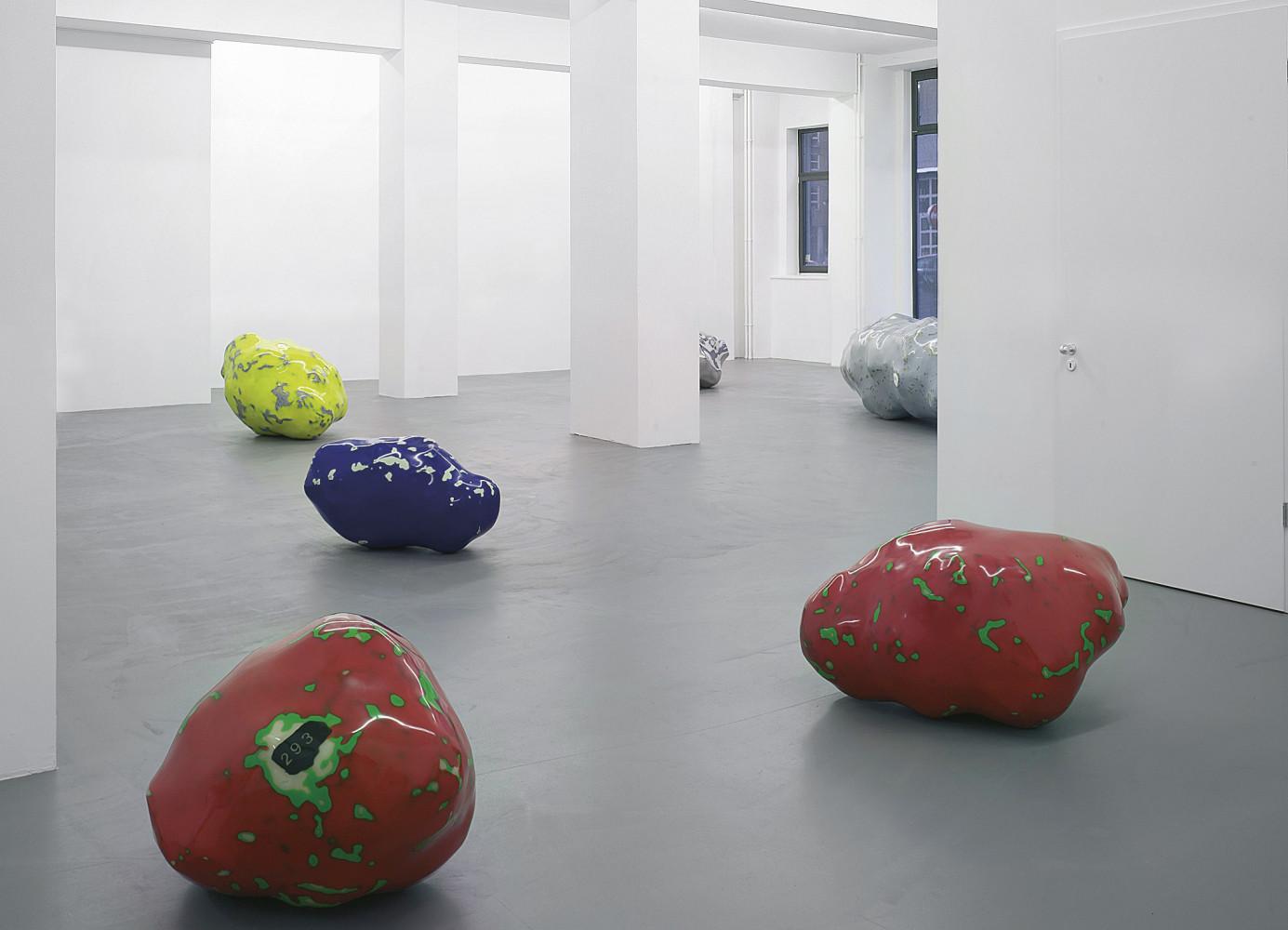 Wilhelm Mundt, '285 - 289 - 299 - 305 - 306', Installation view, Buchmann Galerie, 2006
