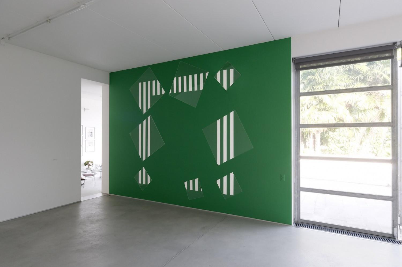 Daniel Buren, 'Cadre Fragmenté A', 1991