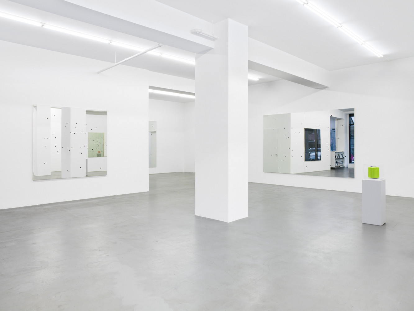 Alberto Garutti, 'Là, Ora', Installation view, Buchmann Galerie, 2015