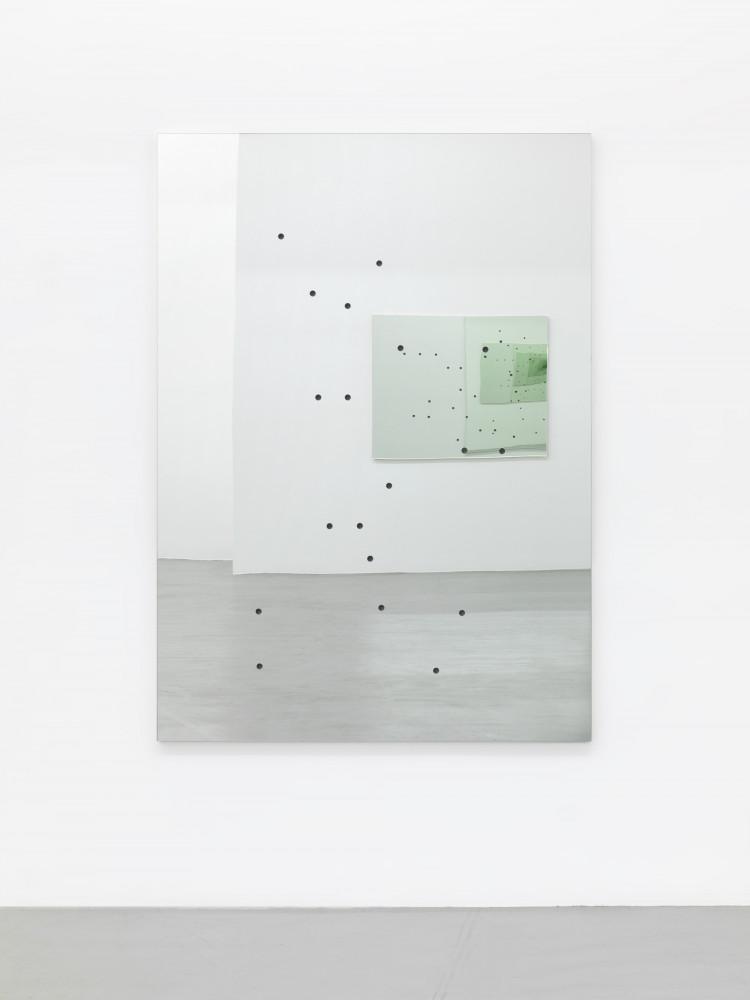 Alberto Garutti, 'Piccolo paesaggio domestico con occhio di Luca', 1990