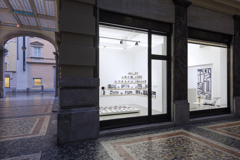 """Alex Dorici, ' """"Diario di Viaggio"""", 2020', Installation view, Buchmann Lugano"""