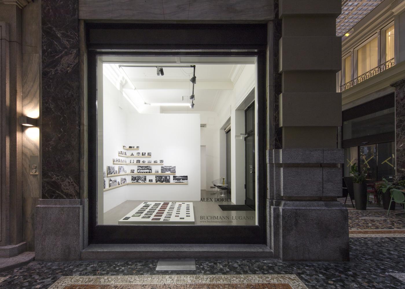 """Alex Dorici, '""""Diario di Viaggio"""", 2020', Installation view, Buchmann Lugano"""