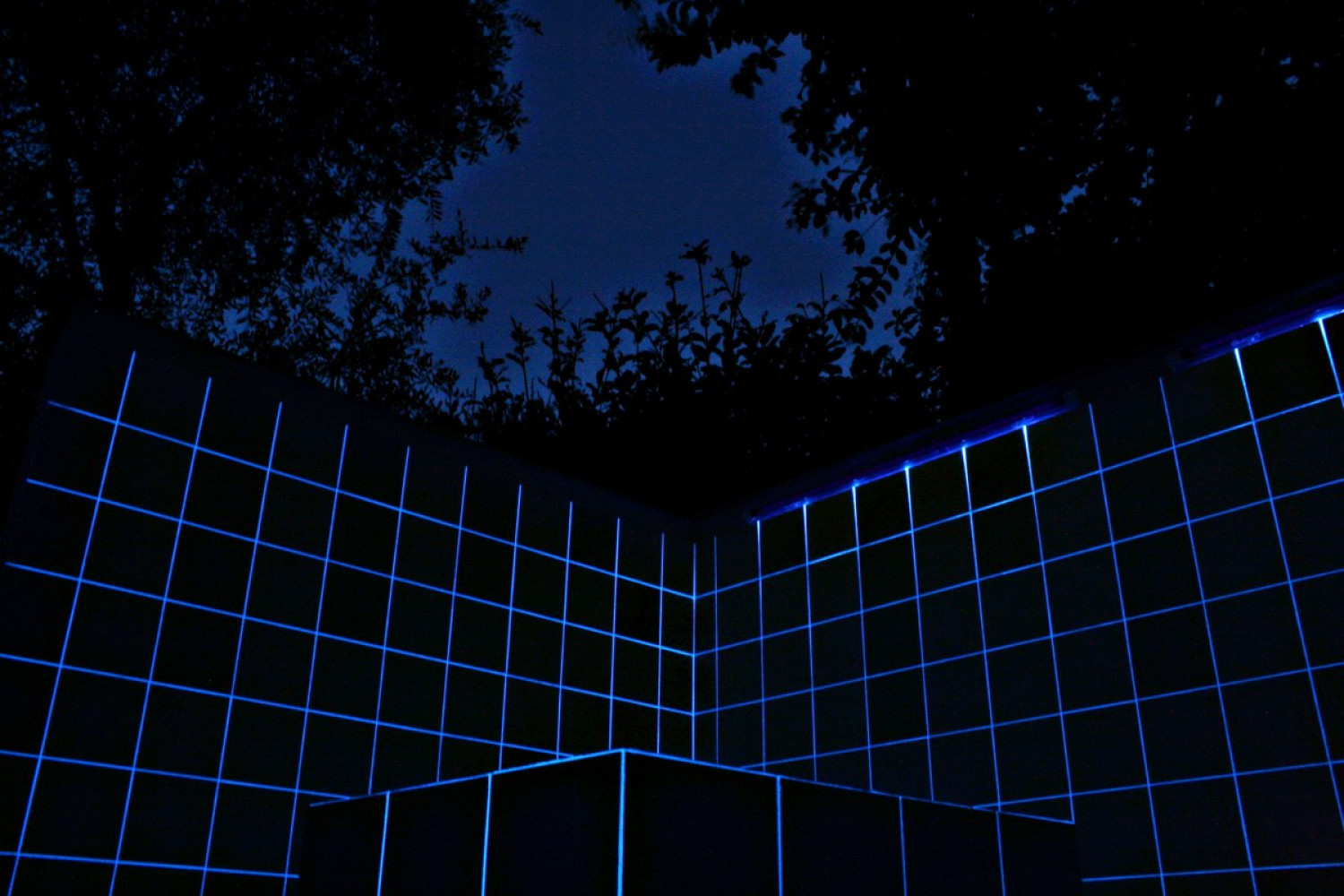 Alex Dorici, 'Azulejos Light Line 844 (night view)', 2016