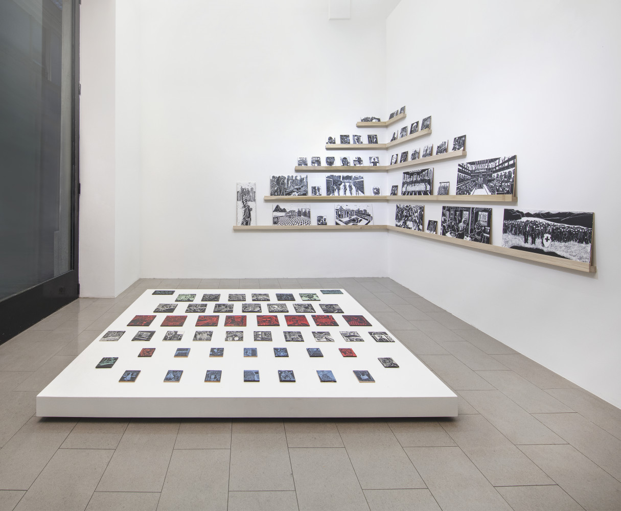 """Alex Dorici, '""""Diario di Viaggio"""" 2020', Installation view, Buchmann Lugano"""