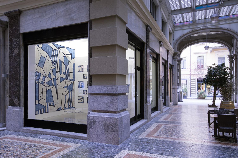 Alex Dorici, 'Portugal al cubo #729', Installation view, Buchmann Lugano / Via della Posta, 2017