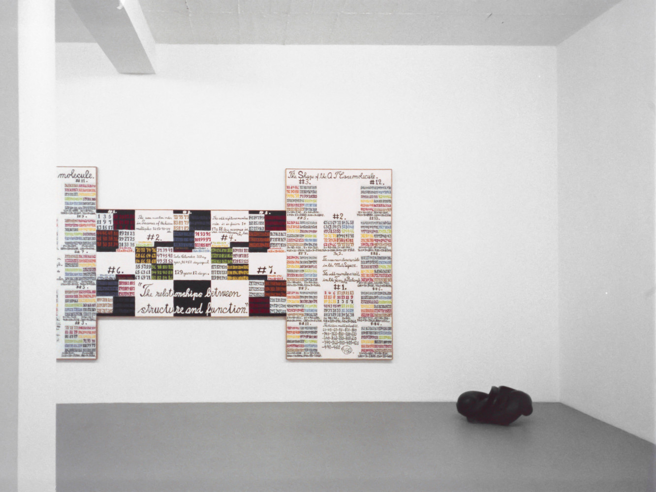 'Alfred Jensen – The Relationship between Structure and Function ', Installation view, 1997