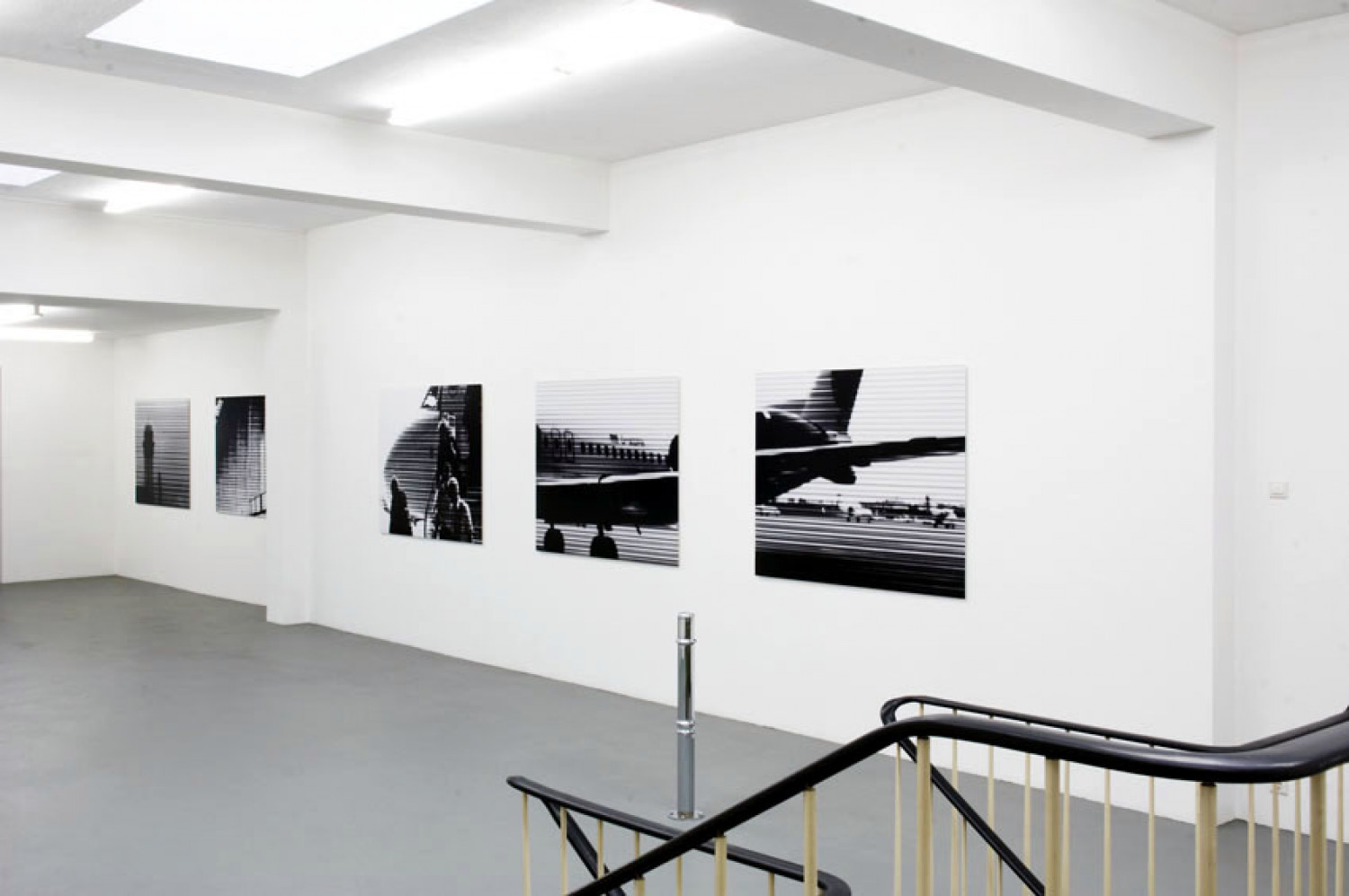 Bettina Pousttchi, 'Take Off', Installation view, 2005