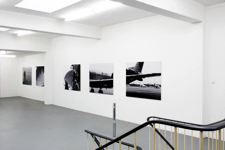 Bettina Pousttchi, 'Take Off', Installation view, 2005
