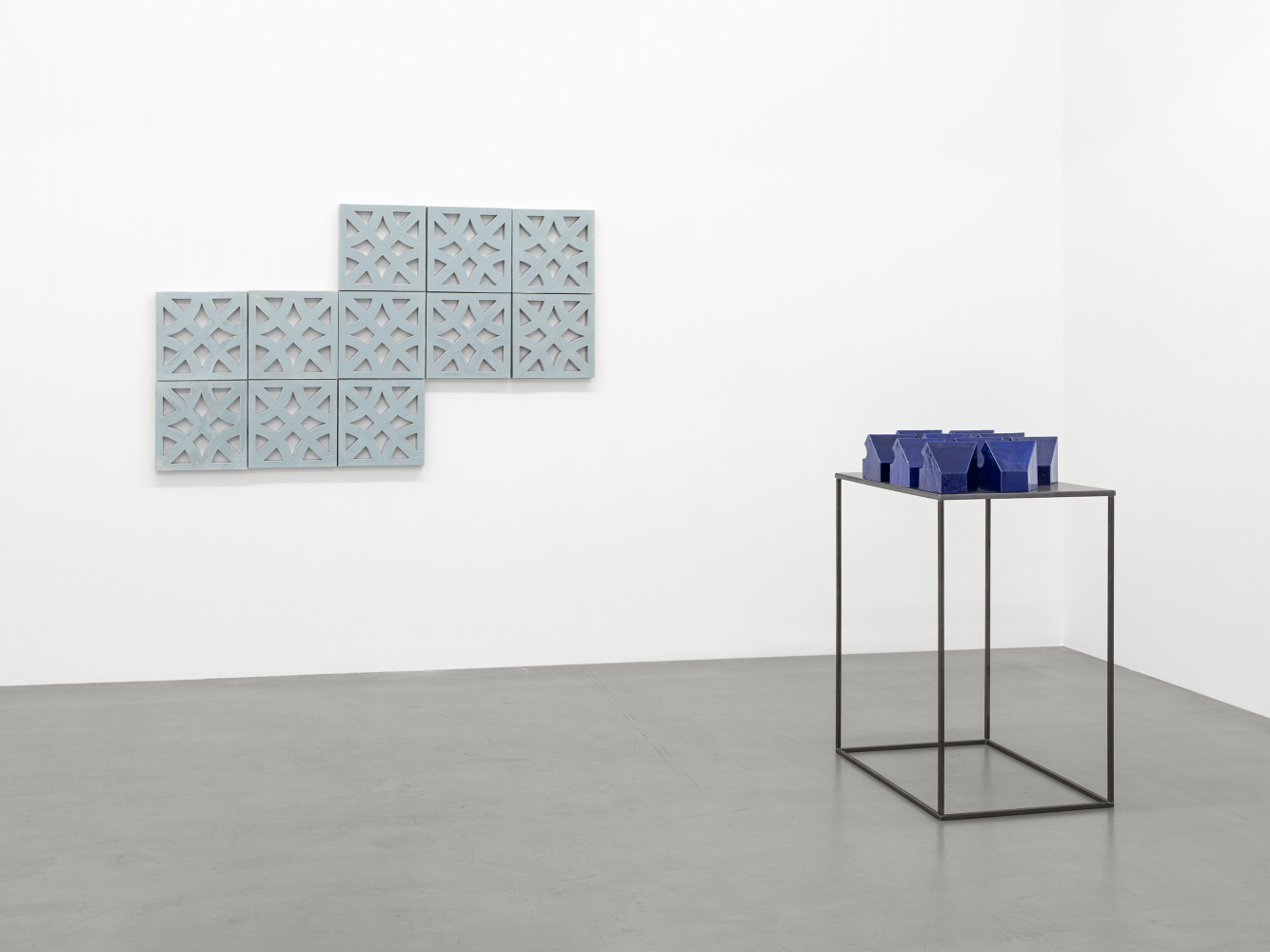 Bettina Pousttchi, Installation view, Buchmann Galerie, 2016