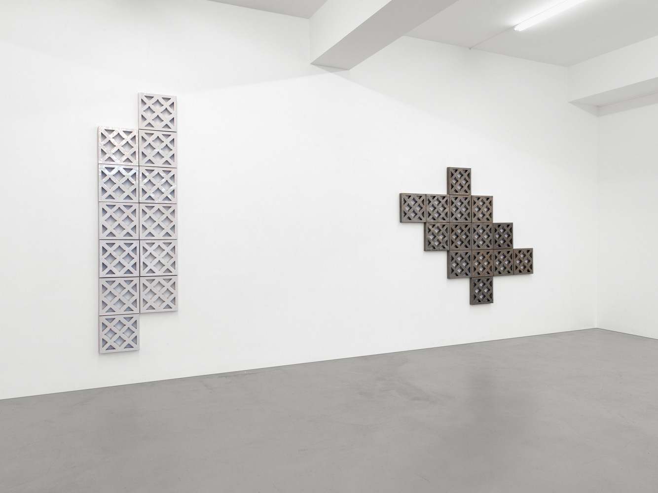 Bettina Pousttchi, 'Ceramics', Installation view, Buchmann Galerie, 2016