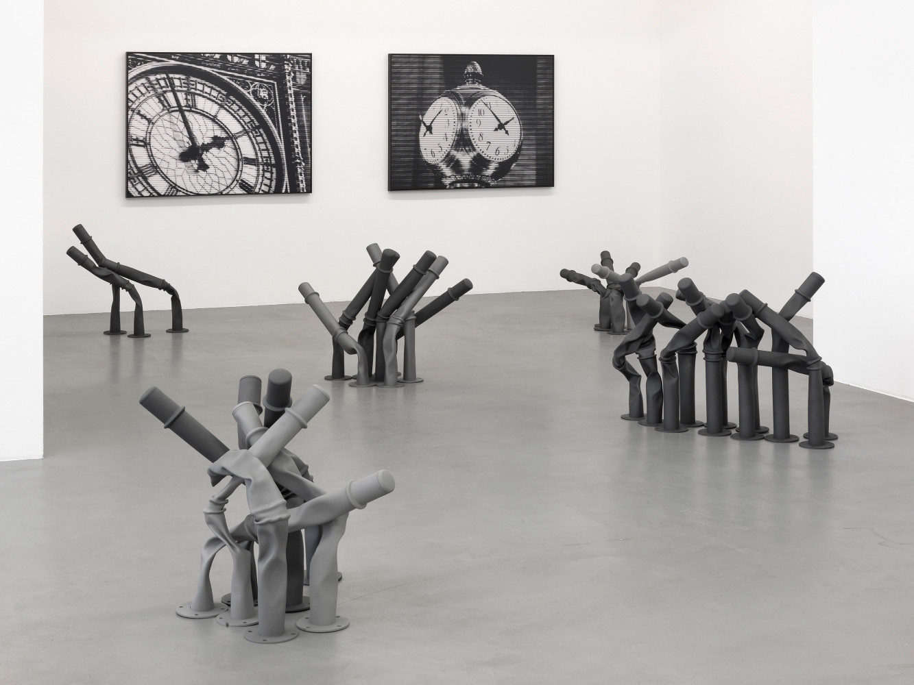 Bettina Pousttchi, 'Off the Clock', Installation view, 2013