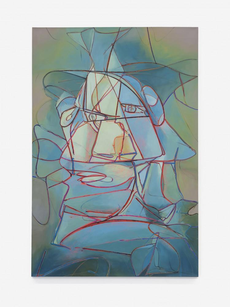 Sean Dawson, 'Blue Flaneur', 2017