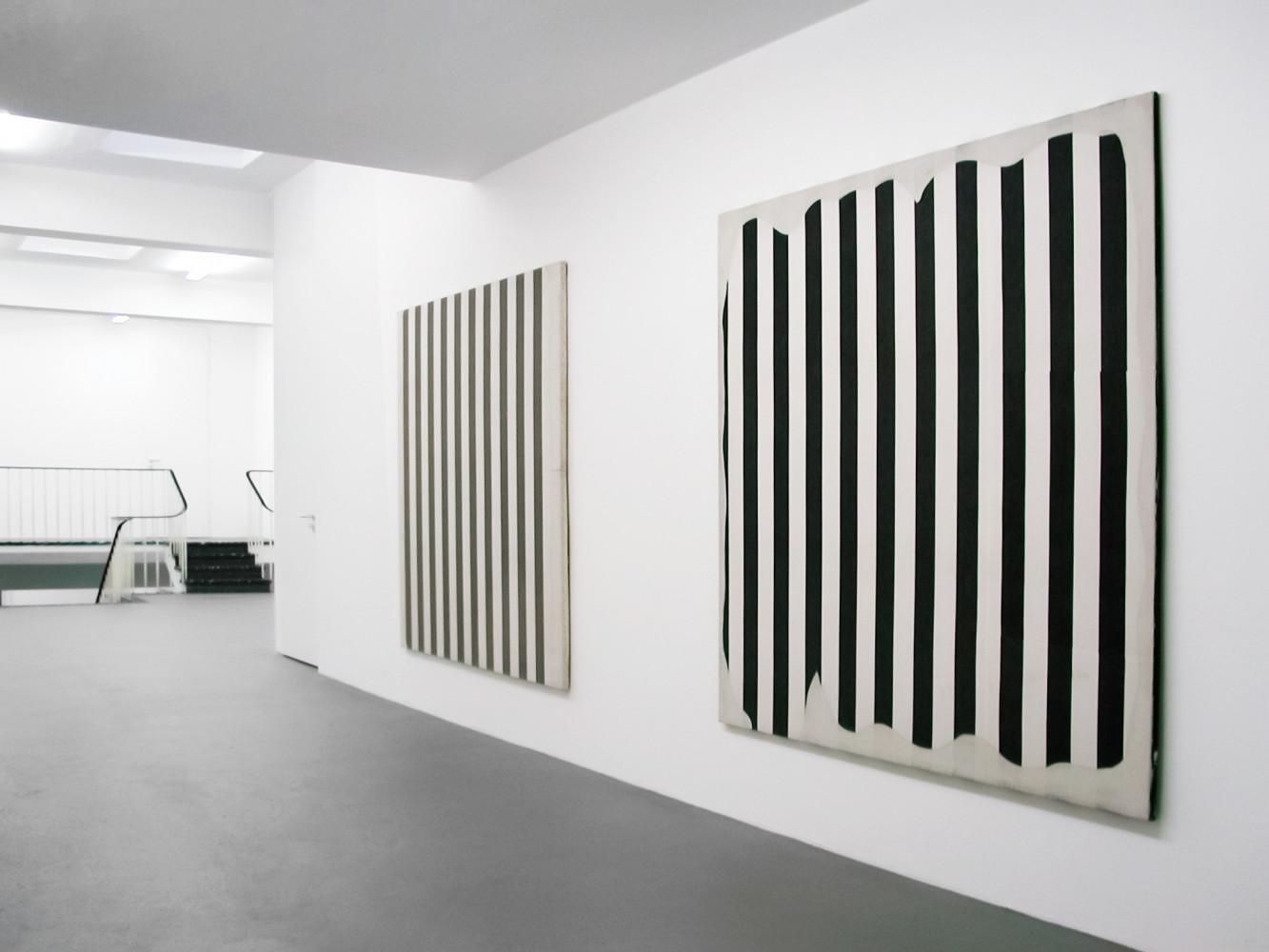 Daniel Buren, 'Peinture blanche 1965 - 1966', Installation view, 2002