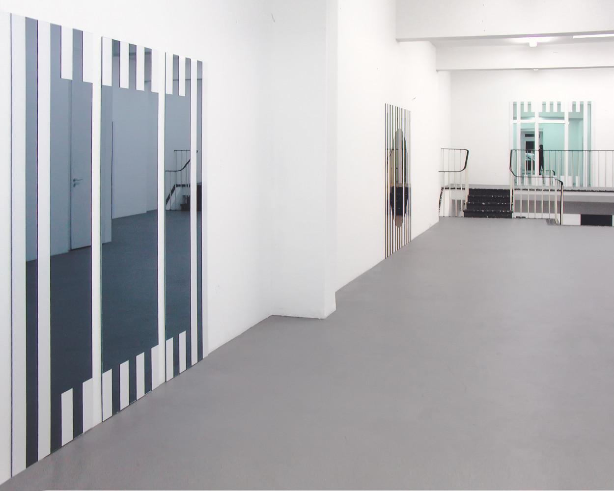 Daniel Buren, 'Les Visages Colorés', Installation view, 2005