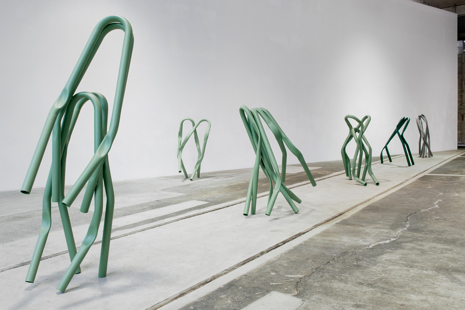 Bettina Pousttchi, 'Kunstmuseum St. Gallen, Protection', Installation view