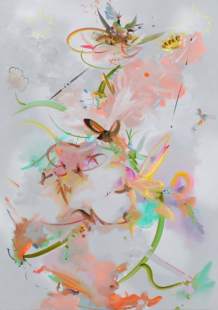 Fiona Rae, 'Figure 2e', 2016