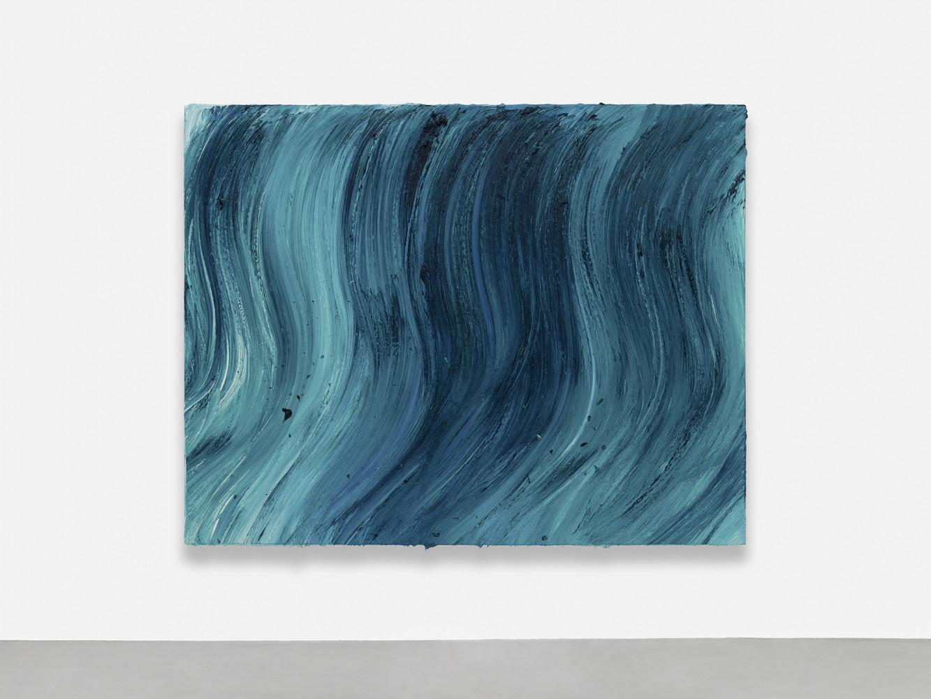 Jason Martin, 'Untitled (Caribbean blue / Heliogen green)', 2020
